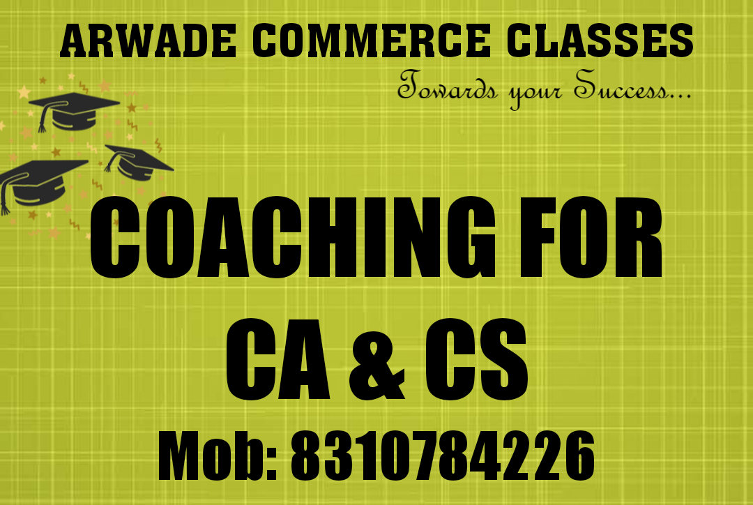 ARWADE COMMERCE CLASSES